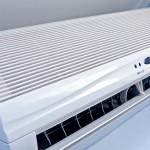 Air conditioner, close-up